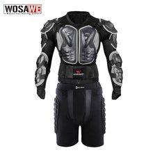 Wosawe Мужская защита всего тела мотоциклетная Защитная армированная