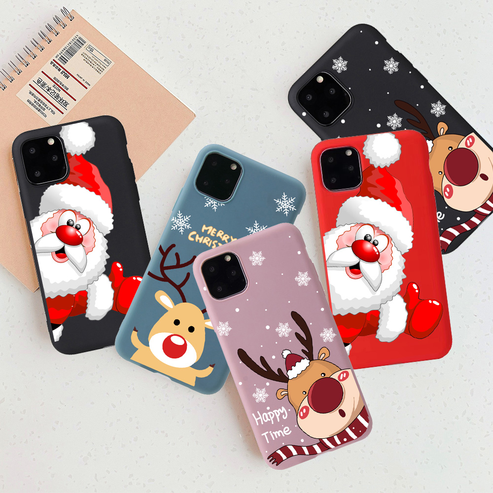 Christmas New Year Cute Phone Case For iPhone 12 Pro Max