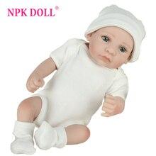 NPKDOLL 10 inch lifrlike bebe toy Mini Reborn Babies Boy Realistic Ful