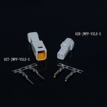 1/5/10/20/30/50 sets JST 2 Pin Way male female automotive connector plug housing for Benz BMW 02R-JWPF-VSLE-S 02T-JWPF-VSLE-S image
