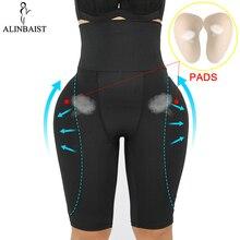Kadın popo kaldırıcı Shapewear bel karın kontrol vücut iç çamaşırı şekillendirici Pad kontrol külot sahte kalça iç çamaşırı uyluk Slimmer