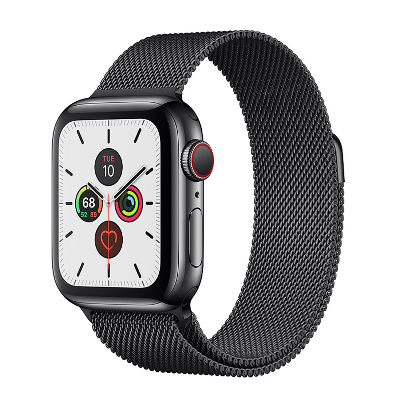 Strap For Apple Watch Band 44 Mm 40mm Milanese Loop IWatch Band 42mm 38mm Stainless Steel Bracelet Watchband Apple Watch 4 5 3 2