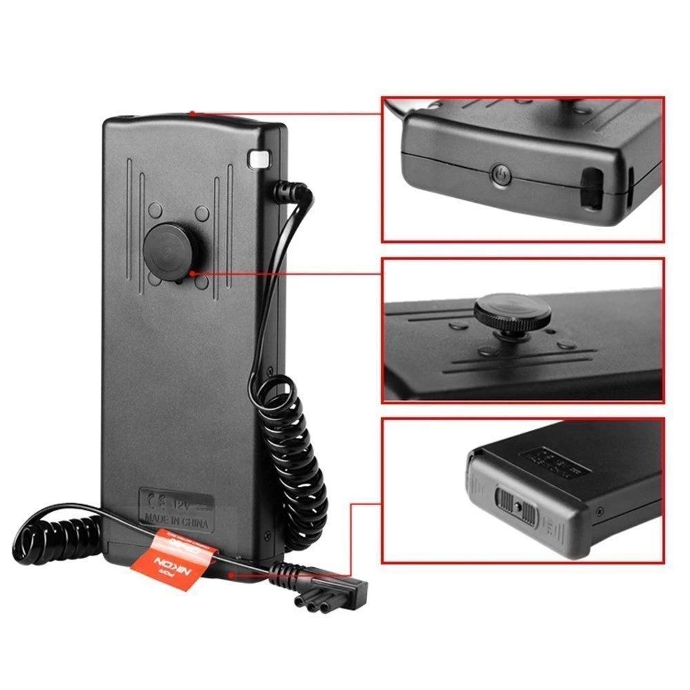 Godox CP-80 Flash Speedlite Battery Power Pack for Nikon SB-900//SB-910 Flashgun