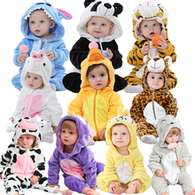 2019 Infant Romper Baby Boys Girls Jumpsuit New born Bebe Clothing Hooded Toddle