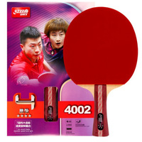 Manufacturers Direct Selling DHS Table Tennis Racket Four Stars 4002 Horizontal Position 4006 Penhold Poplar Double Anti Plastic