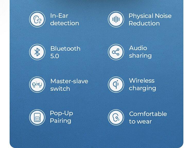 Joyroom JR-T03 Pro TWS Wireless Earbuds 2