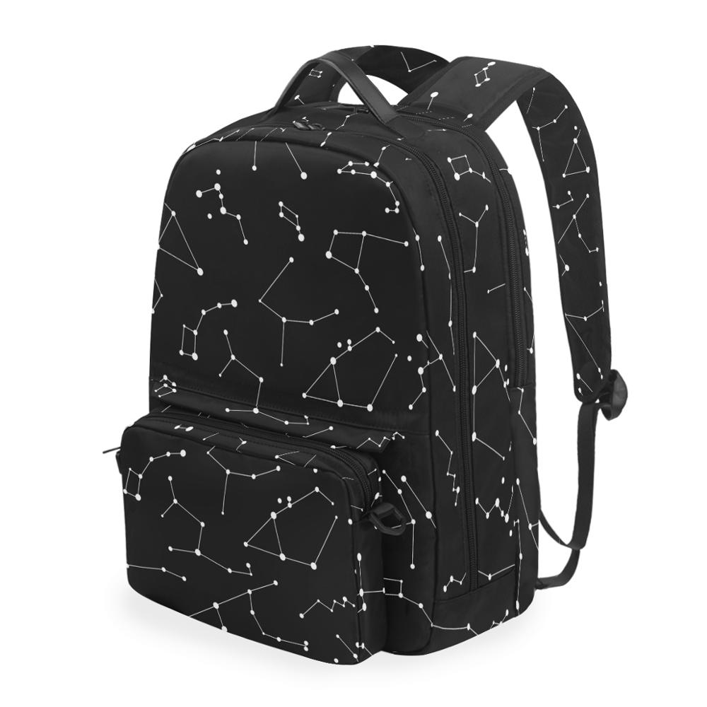 CACTUS Creative Fashion Fashion Multi-Purpose Backpack Women All Match Student Bags Large Capacity Oxford Backpack for Women Black