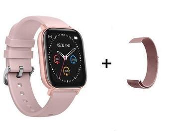 RUNDOING P8 1.4 inch Smart Watch Men Full Touch Fitness Tracker Blood Pressure Smart Clock Women GTS Smartwatch 15