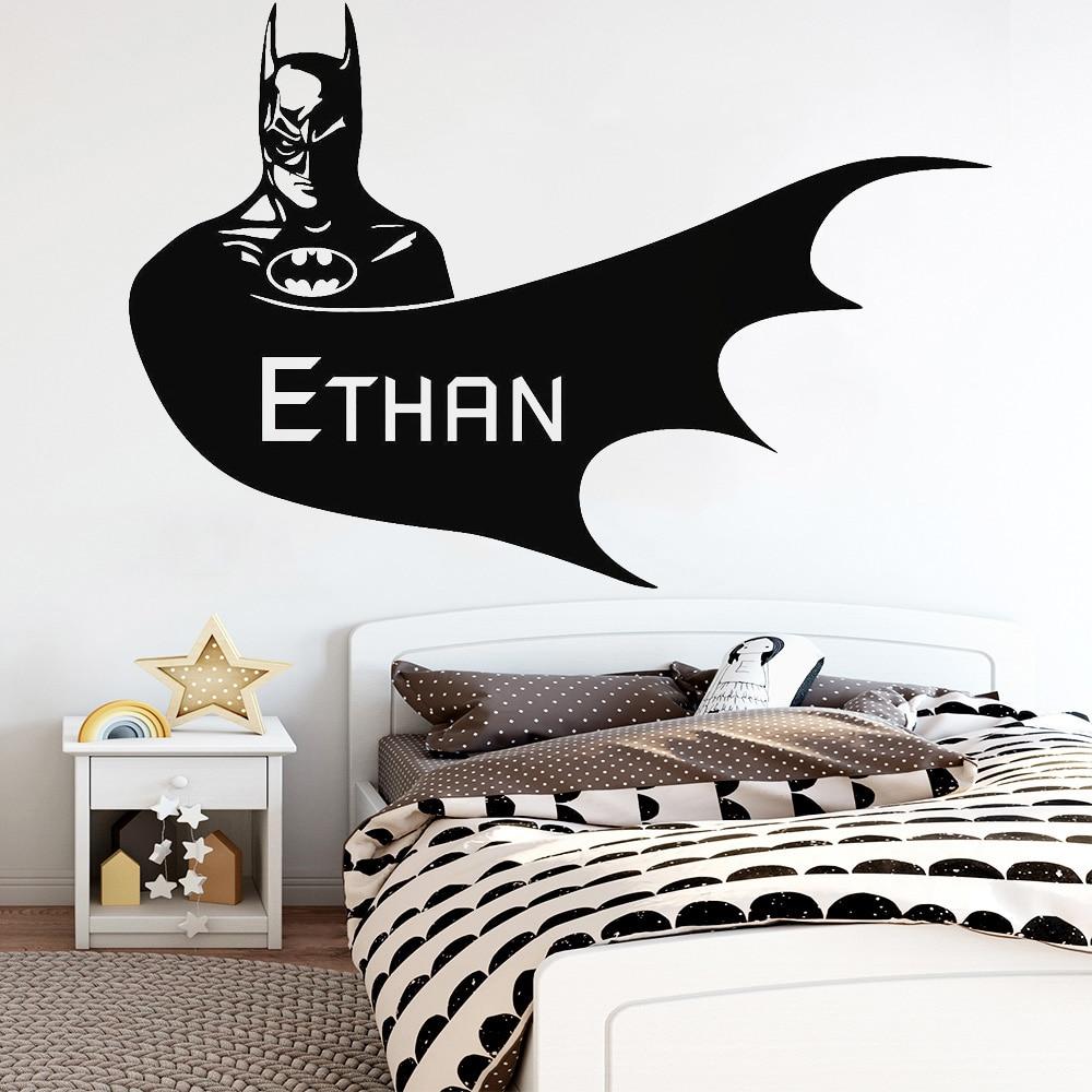 Superman Superhero Nursery Children/'s Bedroom Decal Wall Art Sticker Picture