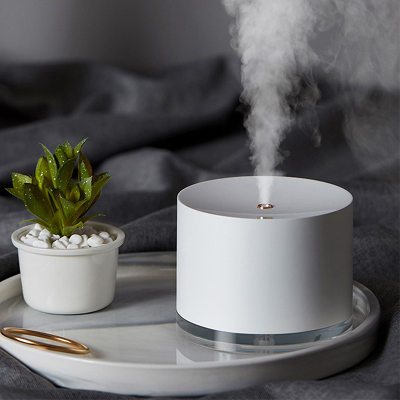Rechargeable Usb Portable Air Humidifier Wireless Electric Humidifiers Diffuser Cool Mist Maker Night Lamp Purification For Home