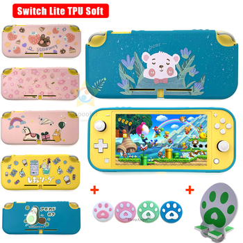 2020 New Case for Nintendos Switch Lite Soft Durable Protective Cover Case TPU Shells for Nintendoswitch Lite Console Accessorie image