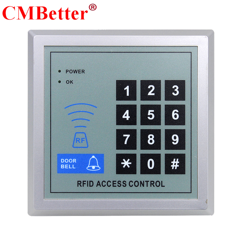 New Arrival RFID Access Control System Device Machine Security RFID Proximity Entry Door Lock 2000 User