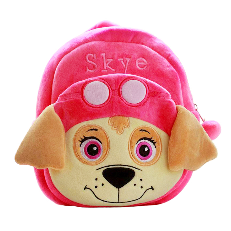 Plush Bag Paw Patrol Puppy Plush Backpack Anime Figure Chase Marshall Plush Animals Toys For Children Christmas Birthday Gift 4