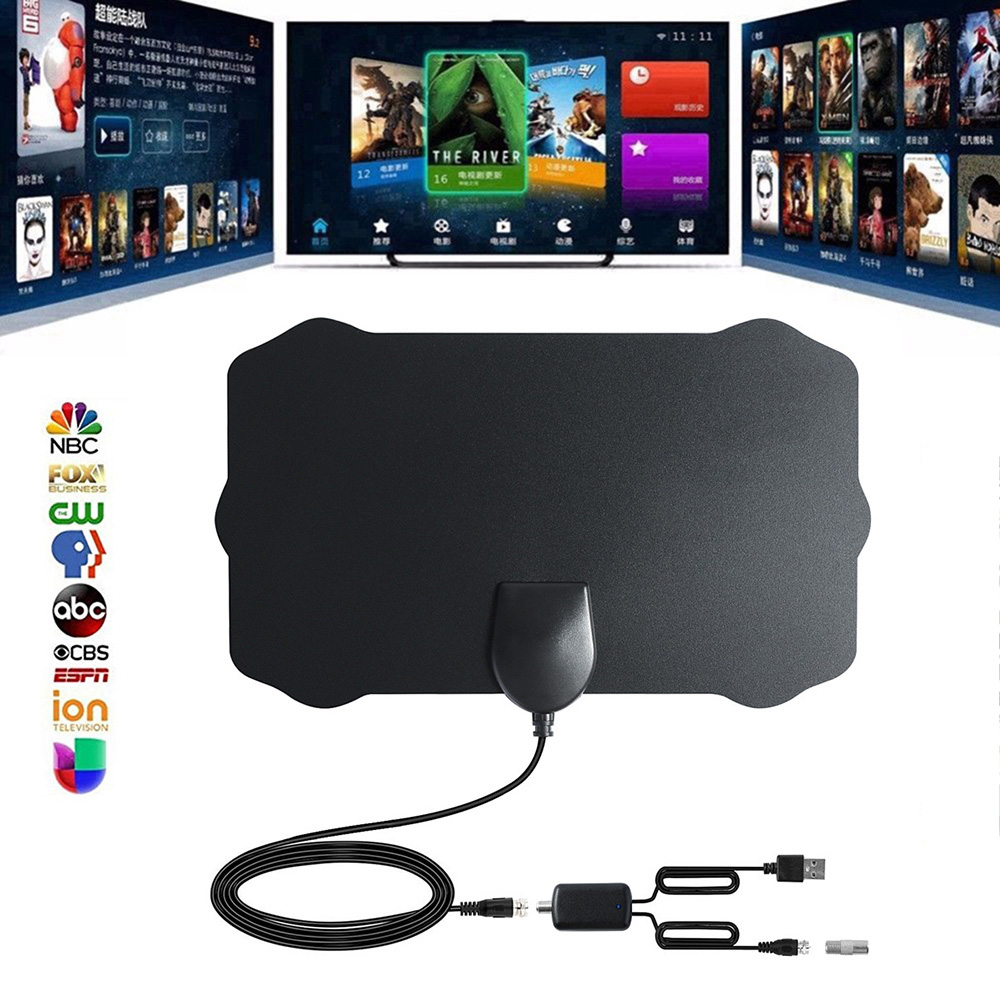 1080p Skywire 4K Antena Digital-Indoor HDTV Antenna Signal 960 Mile Range Antenna TV Digital HD HDTV Antenna Without Amplifier