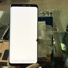 100% Super AMOLED LCD Für Samsung Galaxy S9 LCD S9 G960 LCD Für Samsung S9 PLUS G965 Display Bildschirm Touch digitizer Montage + Dot(China)