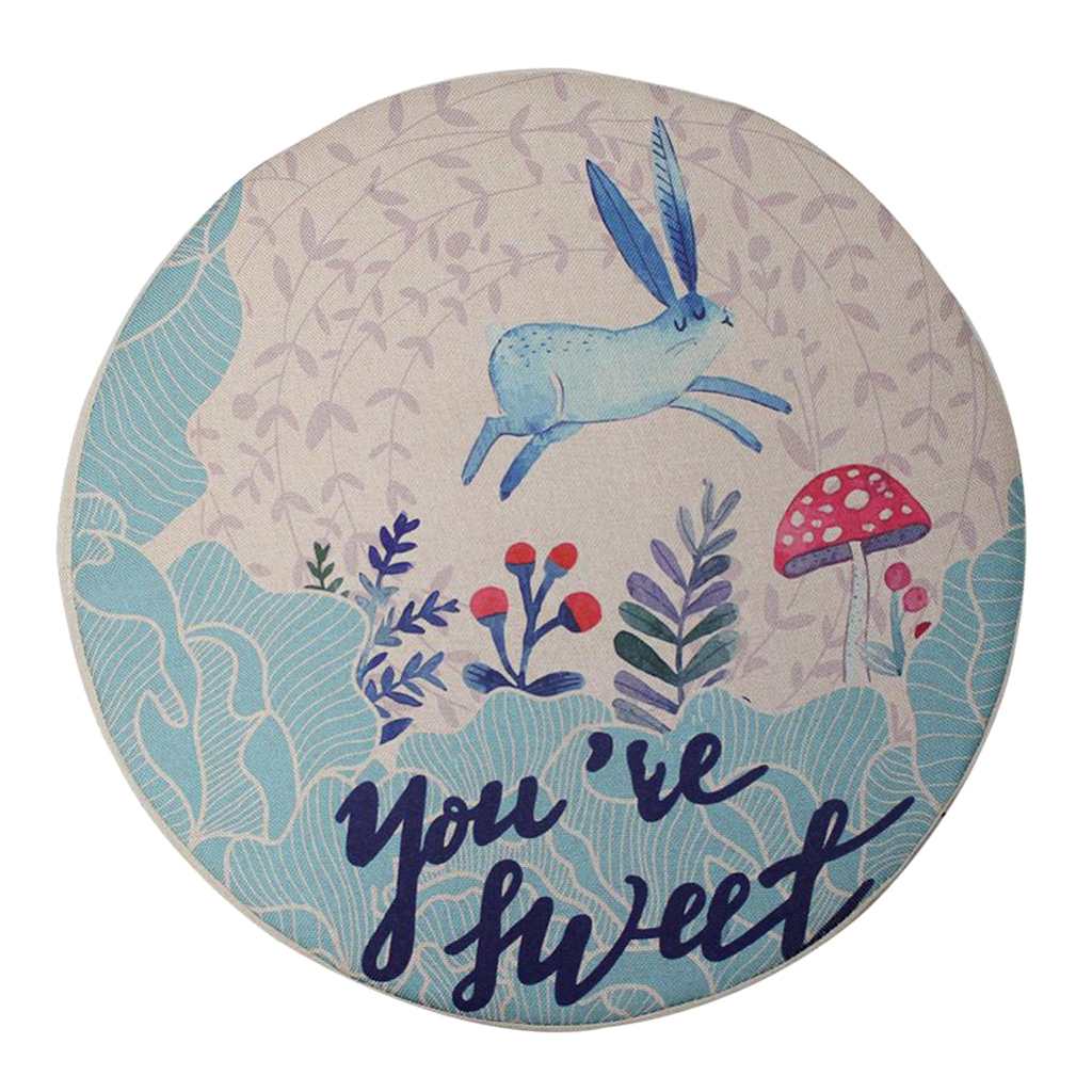 Animal Printed Kids Chair Seat Cushion Toddlers Infant Seats Cover Play Mat Rugs for Kids Children Car Floor Decor Home Ornament
