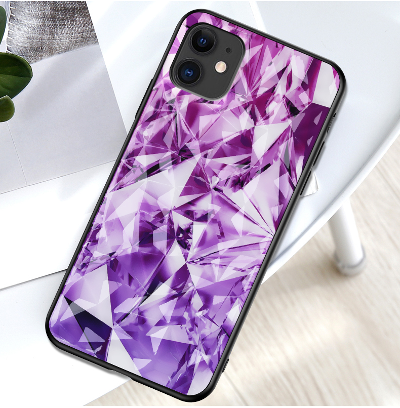 NEW <font><b>Cases</b></font> For <font><b>Vivo</b></font> <font><b>Y17</b></font> Y12 Y15 2019 X23 X27 V15 Pro Shining Luxury Coque Glitter Diamonds Pattern Phone Shell TPU PC <font><b>Case</b></font> Capa image