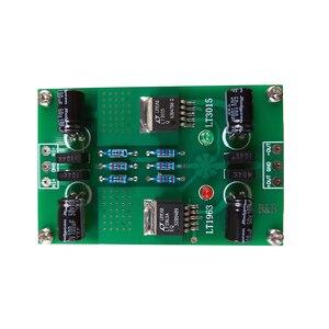 Image 5 - LT1963A LT3015 חיובי ושלילי מתח DC DC דיוק רעש נמוך ליניארי מוסדר אספקת חשמל עבור Preamp DAC