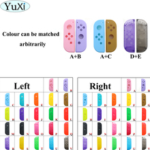 YuXi For Nintend Switch NS Joy Con Replacement Housing Shell Cover for NX JoyCons Controller Joystick Housing Shell Case