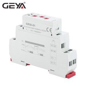 Image 3 - Geya GRI8 01 電流監視リレー電流範囲 8A 16A AC24V 240V DC24V 過電流保護リレー