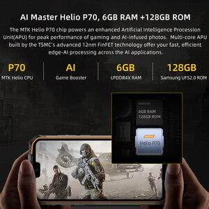 Image 4 - IP68 مقاوم للماء DOOGEE S68 Pro جوّال المهامّ الوعرة لاسلكيّ شحن NFC 6300mAh 12V2A شحن 5.9 بوصة FHD + Helio P70 Octa Core 6GB 128GB