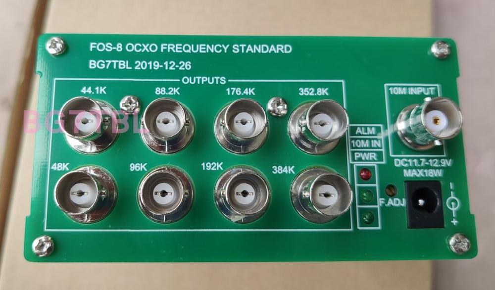 Free Shipping Bg7tbl 44.1K 48K Frequency Standard Word Clock With OCXO Support External RB Clock Input  + Power Adapter