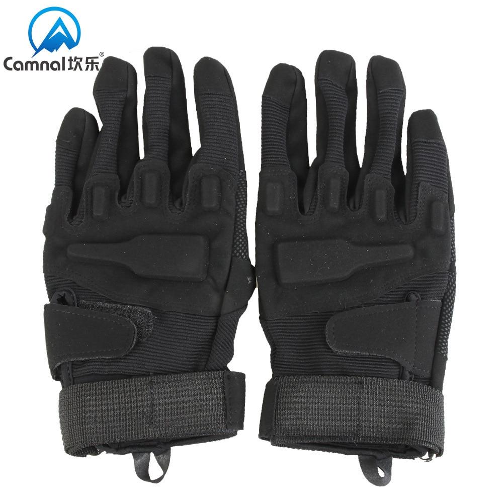 Kan Le/camna Outdoor Anti-slip Wear-Resistant Gloves Hell Storm Tactical Gloves Black Hawk Gloves Full Finger Gloves