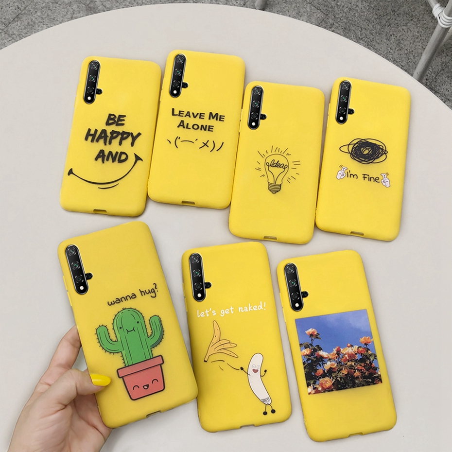 For <font><b>Huawei</b></font> nova 5T <font><b>Honor</b></font> 20 <font><b>Case</b></font> <font><b>Honor</b></font> 20S 20 S 20 Lite Pro <font><b>20i</b></font> Honor20 <font><b>Cases</b></font> TPU Soft Silicone Back Cover Funda Phone <font><b>Case</b></font> Capa image