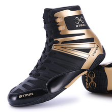 Men Boys Boxing Wrestling Shoes Professional Wrestling Training Sneakers Big Size Comfortable Men Fighting Boots