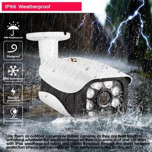 Image 4 - H.265 8CH 5MP cctvカメラシステムワイヤレスpoe nvrキット屋外防水 5MPオーディオpoe ipカメラセキュリティ監視システム