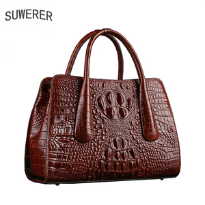 SUWERER New Women Genuine Leat