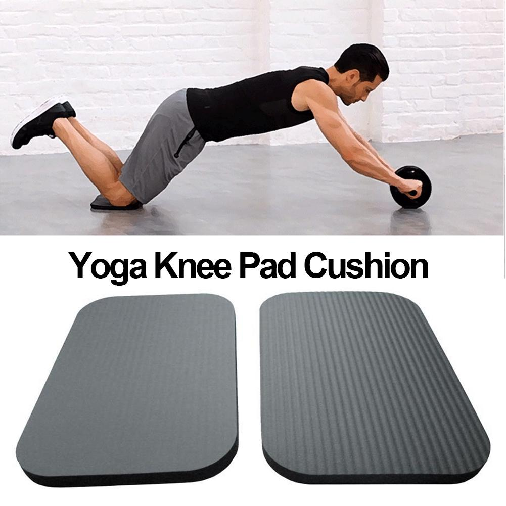 Yoga Knee Pad Mat Cushion Wrist Elbows Pads Mats Knee Protector For Gym Fitness Sports Accessories Workout Non-Slip Yoga Kneepad
