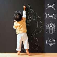 60x200 см детская Классная доска, съемная Наклейка на стену, классная доска, детская доска, классная доска, наклейка, этикетка для мальчиков и девочек