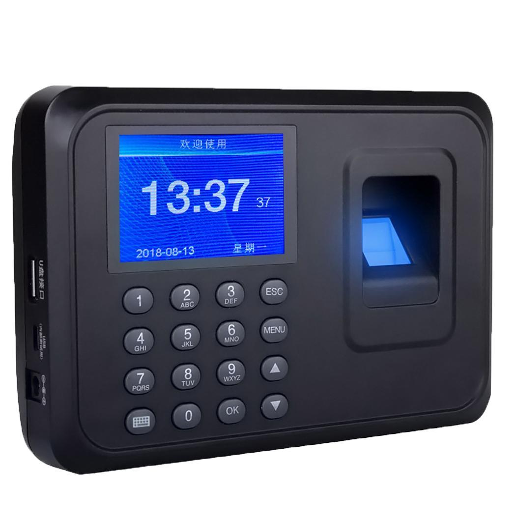 Biometric Fingerprint Time Attendance Machine Office USB Employee Less Than1s 100,000 Events Management 1000