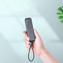 Portable data line incorporating convenient