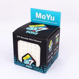 Image 4 - Moyu meilong 7x7x7 קוביית קסם 7x7 פאזל cubo magico צעצועים חינוכיים תחרות קוביות מהירות קובייה