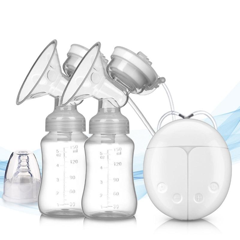 Бабочка Qi Молокоотсос электрический молокоотсос, большая присоска мульти-функциональный Электрический молокоотсос материнской груди