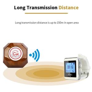 Image 3 - Retekess אלחוטי קורא מערכת שעון מקלט + 10 שיחת כפתור הביפר מסעדה ציוד עבור מהיר מזון משרד קפה F3288B