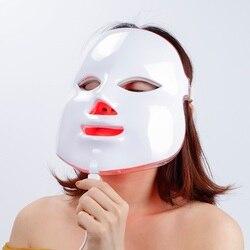 7 cores beleza terapia fóton led máscara facial luz cuidados com a pele rejuvenescimento rugas acne remoção rosto beleza spa instrumento 30
