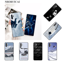 NBDRUICAI Hot I Love ICE Hockey TPU black Phone Case Cover Hull for Samsung Note 3 4 5 7 8 9 10 pro M10 20 30(China)