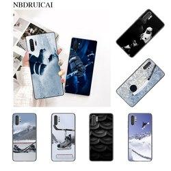 NBDRUICAI горячий Я Люблю Хоккей ТПУ черный чехол для телефона Корпус для Samsung Note 3 4 5 7 8 9 10 pro M10 20 30