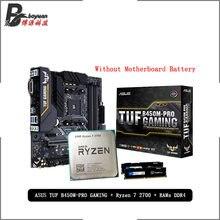 AMD-placa base de juegos Ryzen 7 2700 R7 2700 CPU, Asus TUF B450M PRO, Pumeitou DDR4, 2666MHz, RAMs, sin enfriador