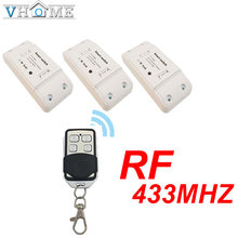 Vhome Wireless Switch Controller Smart Remote Control Light switch RF 433MHZ Small Transmitter AC 220V 5A For Smart Home(China)