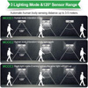 268 LED Solar Powered Lamp for Garden Decoration Solar Energy Motion Sensor Light Outdoor Wide Angle Street Wall Lamp Waterproof discount