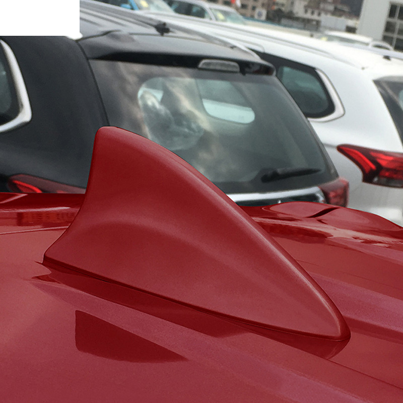 Lsrtw2017 Car Roof Shark Fin Antenna Trims for Mitsubishi Outlander 2013 2014 2015 2016 2017 2018 2019 2020 Interior Accessories|Interior Mouldings| |  - title=