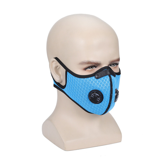 mask PM2.5  face mask carbon Activated carbon anti-flu anti-dust  mouth Gas  Reusable Anti-dust, anti-pollution,Anti-saliva 1