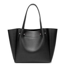 Fourre tout bolsos mujer bandoulière en cuir sacs pour femmes épaule fronde shopper grand sac à main 2019 sacs à main en cuir