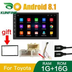 Image 5 - 2 Din 2.5D ekran Android 10.0 araba radyo multimedya Video oynatıcı evrensel Stereo GPS harita için Volkswagen Nissan Hyundai toyota