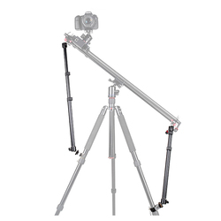 40-85cm SLR Camera Slider Support System Rod Stabilizer Universal Portable Stable Bracket for Tripod with Crab Clip Screw