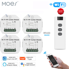 WiFi RF Smart Curtain Module Switch for Electric Roller Shut